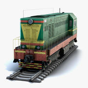 ChME2 Lokomotive LOD2 3d model