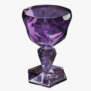 Glas Amethist Fantasie 3d model