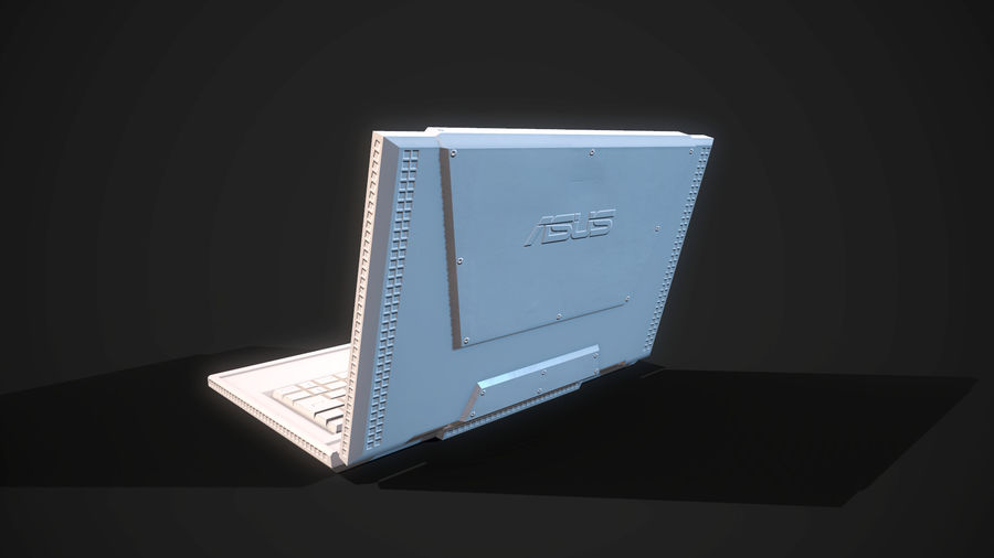 Notizbuch royalty-free 3d model - Preview no. 24