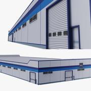 Factory Warehouse 3d model