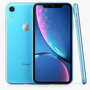 Apple iPhone XR Blauw 3d model