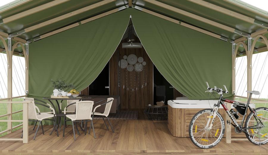 Tente royalty-free 3d model - Preview no. 10