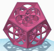 dodecahedron Fantasy 3d model