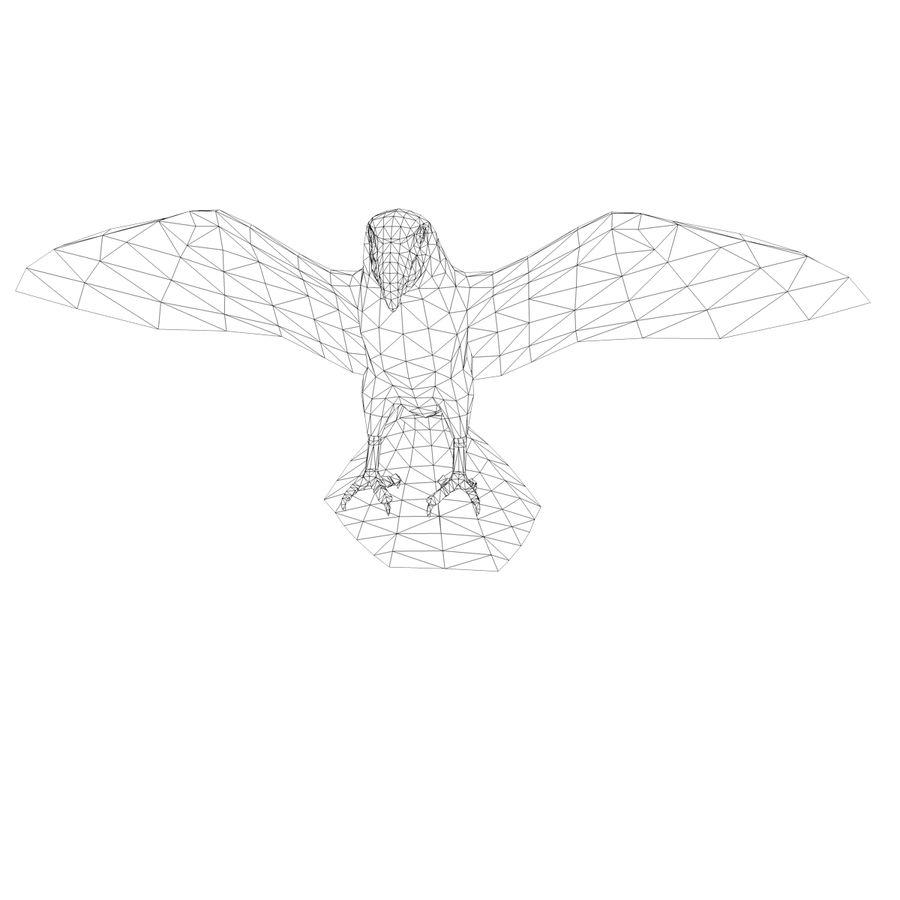 鹦鹉 royalty-free 3d model - Preview no. 10
