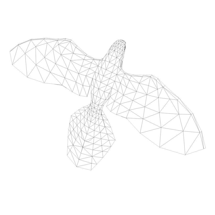 鹦鹉 royalty-free 3d model - Preview no. 12