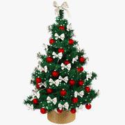Beautiful Christmas Tree V1 3d model