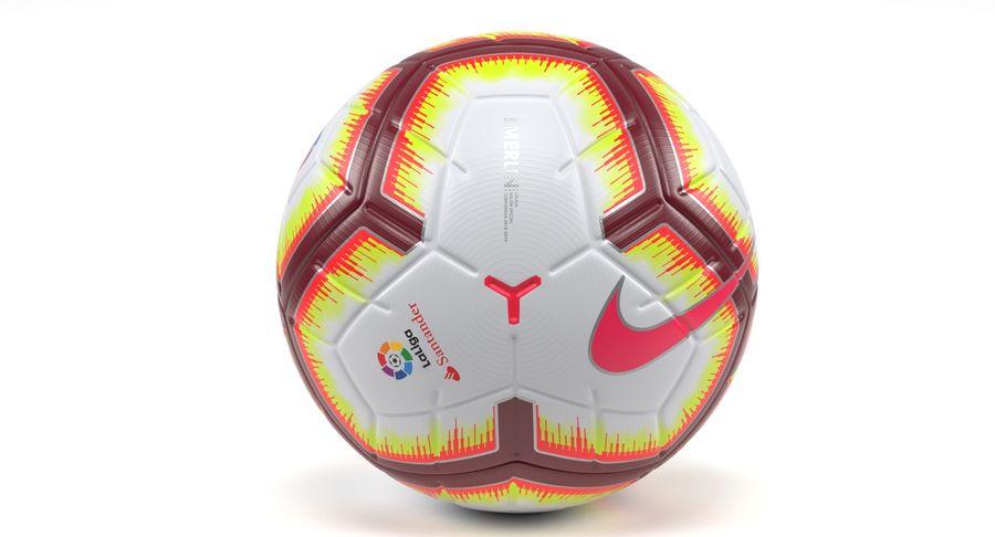metálico aquí Esquiar  Nike Merlin La LIga Ball 3D Model $49 - .obj .fbx .max - Free3D