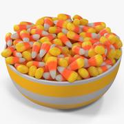 Candy Corn 4 modelo 3d