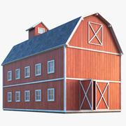 Çiftlik ahır 3d model