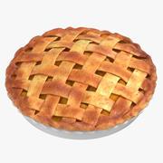 Яблочный пирог 02 3d model