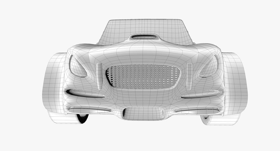 Sports Car royalty-free 3d model - Preview no. 16