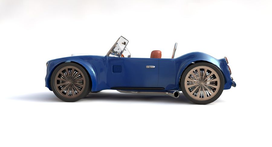 Sports Car royalty-free 3d model - Preview no. 9