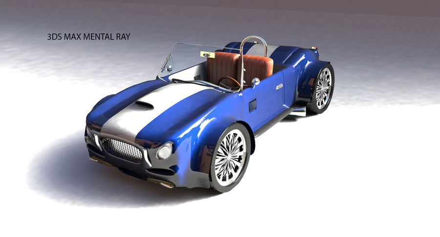 Sports Car royalty-free 3d model - Preview no. 11