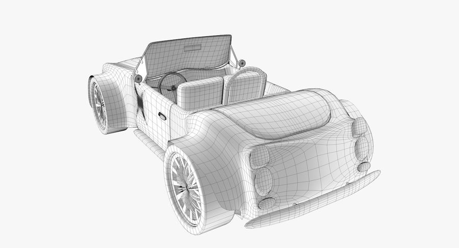 Sports Car royalty-free 3d model - Preview no. 14