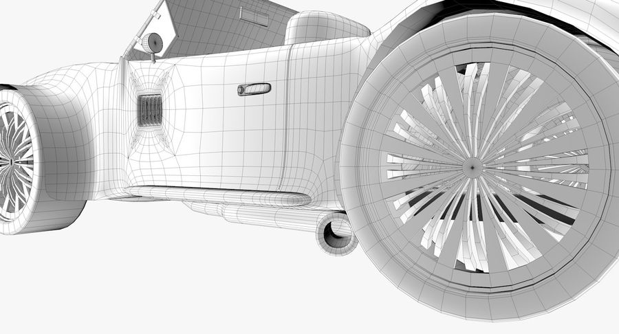 Sports Car royalty-free 3d model - Preview no. 17