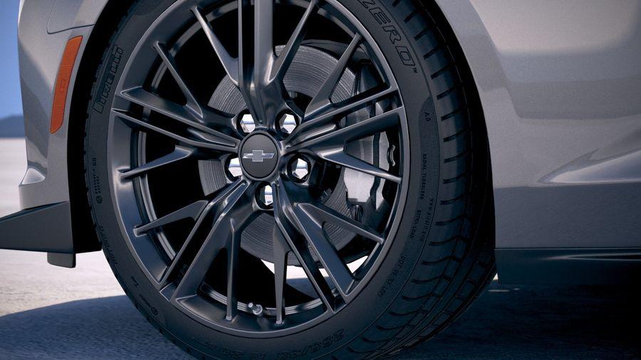 Chevrolet Camaro ZL1 2019 royalty-free modelo 3d - Preview no. 15
