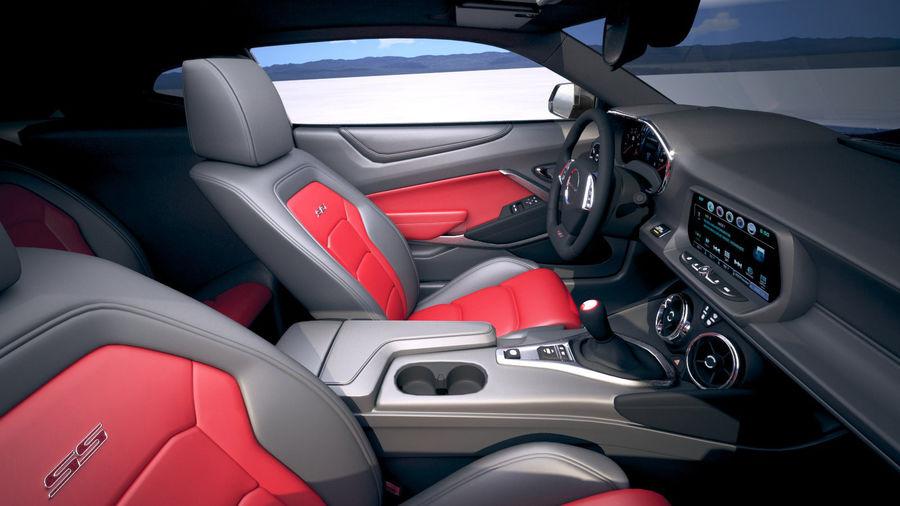 Chevrolet Camaro ZL1 2019 royalty-free modelo 3d - Preview no. 23