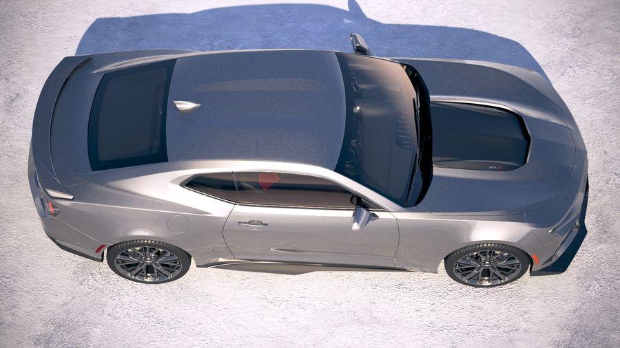 Chevrolet Camaro ZL1 2019 royalty-free 3d model - Preview no. 8