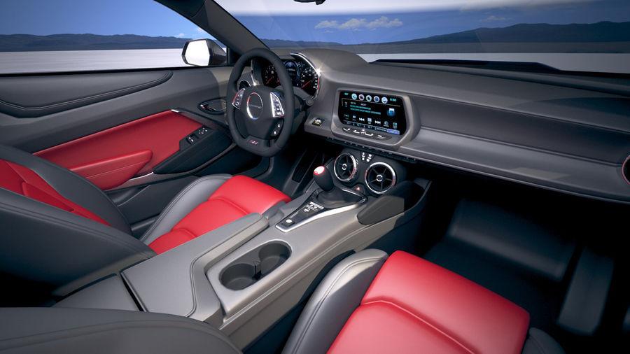 Chevrolet Camaro ZL1 2019 royalty-free 3d model - Preview no. 22