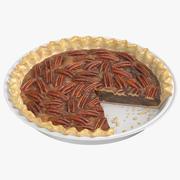 Пирог с орехами 02 3d model