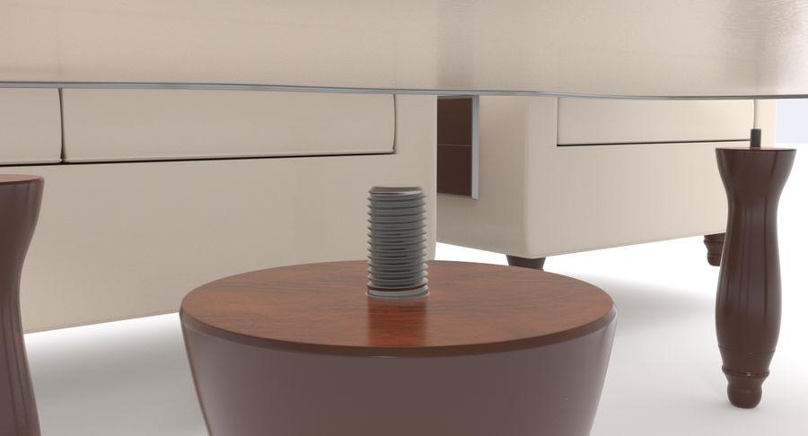 Zestaw do salonu royalty-free 3d model - Preview no. 10