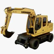 Excavaror Liebherr Bagger XN65-4L 3d model