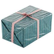 Caixa de presente de Natal embrulhada com laço 200x300x150 3d model