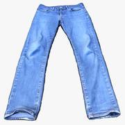 Леви - 511 синих джинсов 3d model