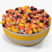 Candy Corn 7 3d model