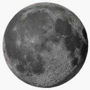 La lune de la terre 3d model