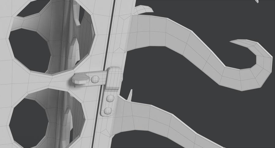 さびたキャンドルランタン royalty-free 3d model - Preview no. 31