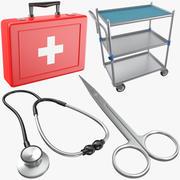 Medizinische Sammlung 01 3d model