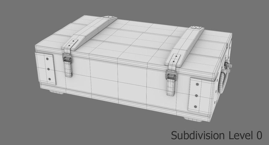 弾薬箱 royalty-free 3d model - Preview no. 18