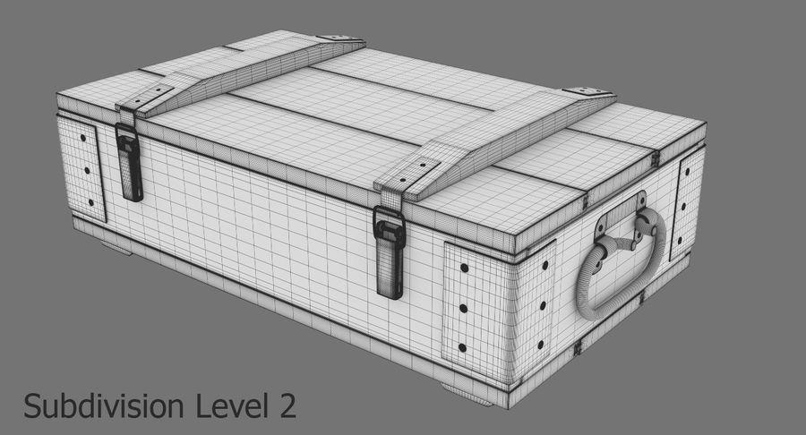 弾薬箱 royalty-free 3d model - Preview no. 25