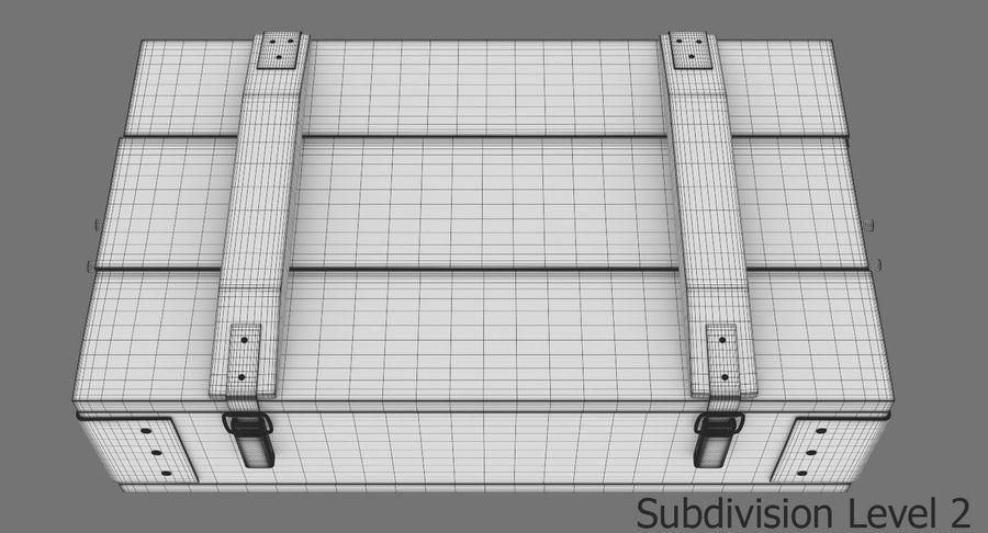 弾薬箱 royalty-free 3d model - Preview no. 28