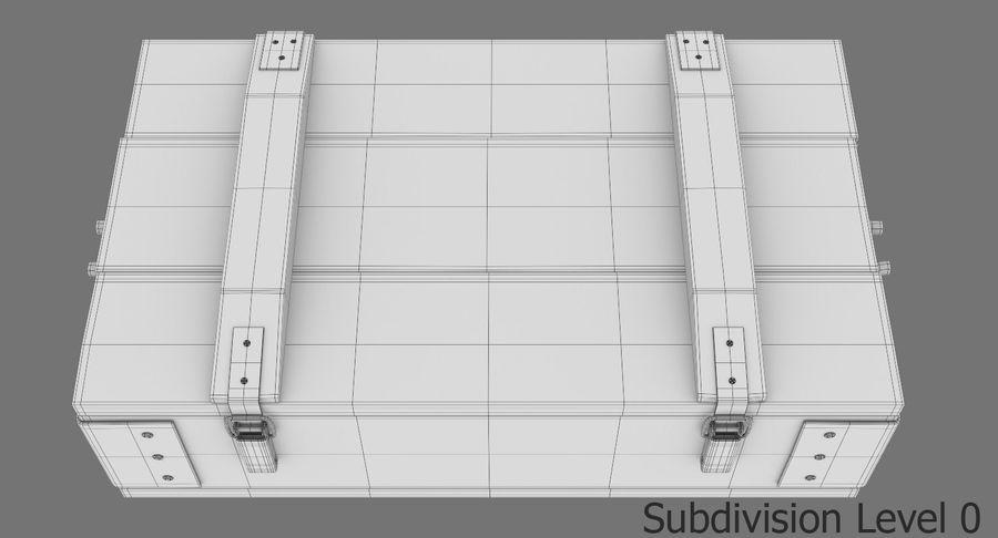 弾薬箱 royalty-free 3d model - Preview no. 20