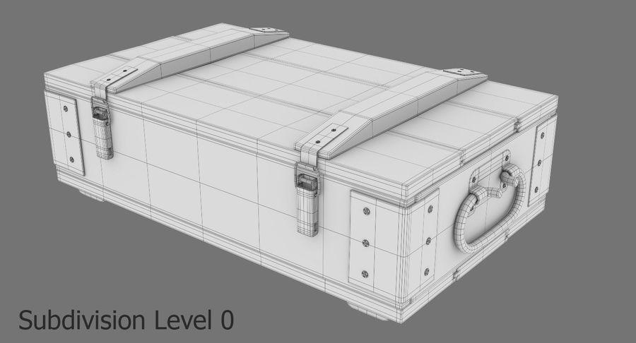 弾薬箱 royalty-free 3d model - Preview no. 17