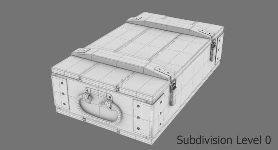 弾薬箱 royalty-free 3d model - Preview no. 19