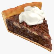 Пирог с орехами 3d model