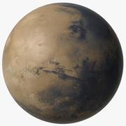 Mars Planet v2 3d model