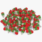 Christmas Candy Corn 3 modelo 3d