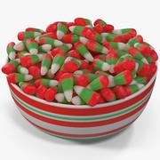 Navidad Candy Corn 4 modelo 3d