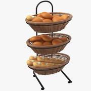 Brot-Ausstellungsstand 3d model