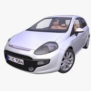 Generic Hatchback 3d model