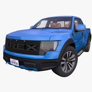 Generic Pick-Up Truck 3d model