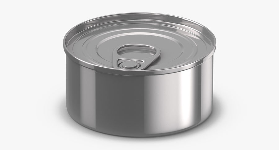 Food Cans royalty-free 3d model - Preview no. 27