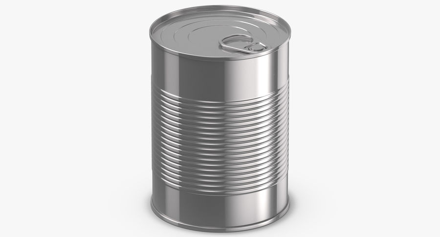 Food Cans royalty-free 3d model - Preview no. 15