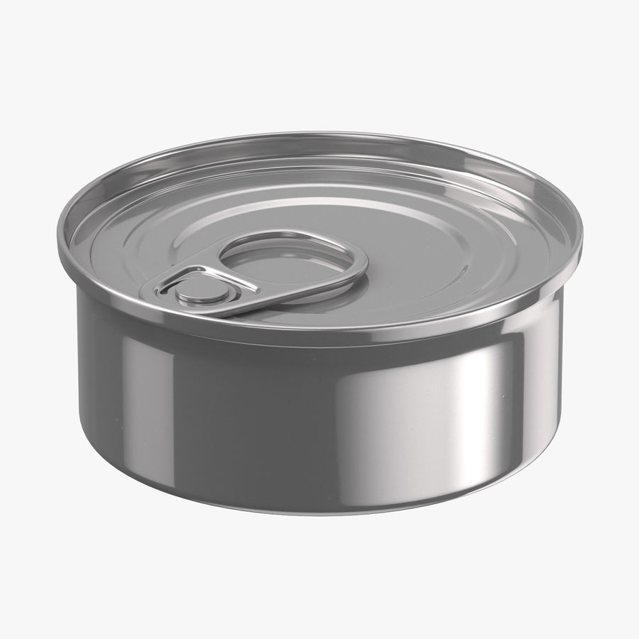 Food Cans royalty-free 3d model - Preview no. 5