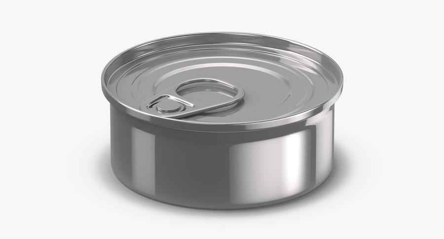 Food Cans royalty-free 3d model - Preview no. 21