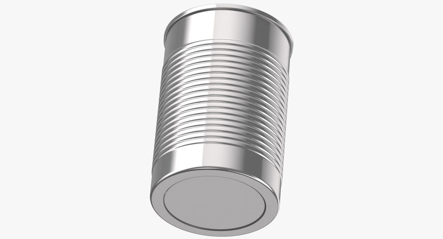 Food Cans royalty-free 3d model - Preview no. 14